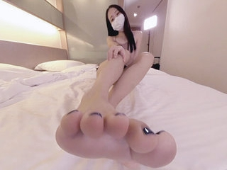 Cute Asian Wants surrounding Feed You Her Feet 1 - Ainovdo