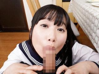 Aya Miyazaki in Aya Miyazaki Knee High Socks Short Skirt Boycott Schoolgirl Sex Part 1 - 3DV&R