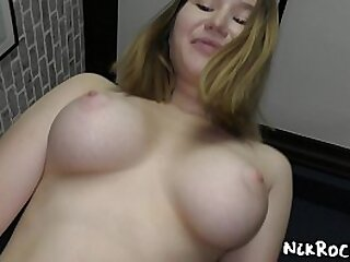 young girl with very big boobs