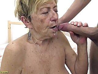 60 year old granny sucks dick