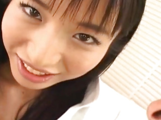 Momo Junna gets fingers, tongue and phallus in hairy love box