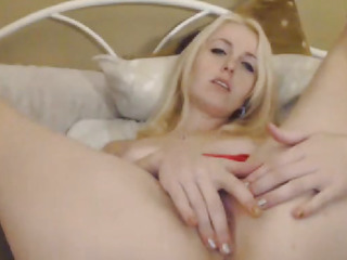 Hot Blonde Chick Hardcore Cam Show