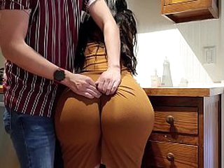 Crystal lust can't move! so her son fucks her big Ass!