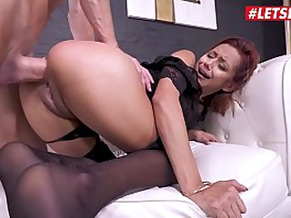 LETSDOEIT - Sexy Teen Latina Veronica Leal Has Rough Anal Sex And Squirt Very Often Thanks To This Stallion