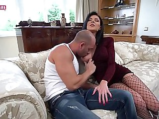 SUGARBABESTV : Hot brunette hard anal fuck